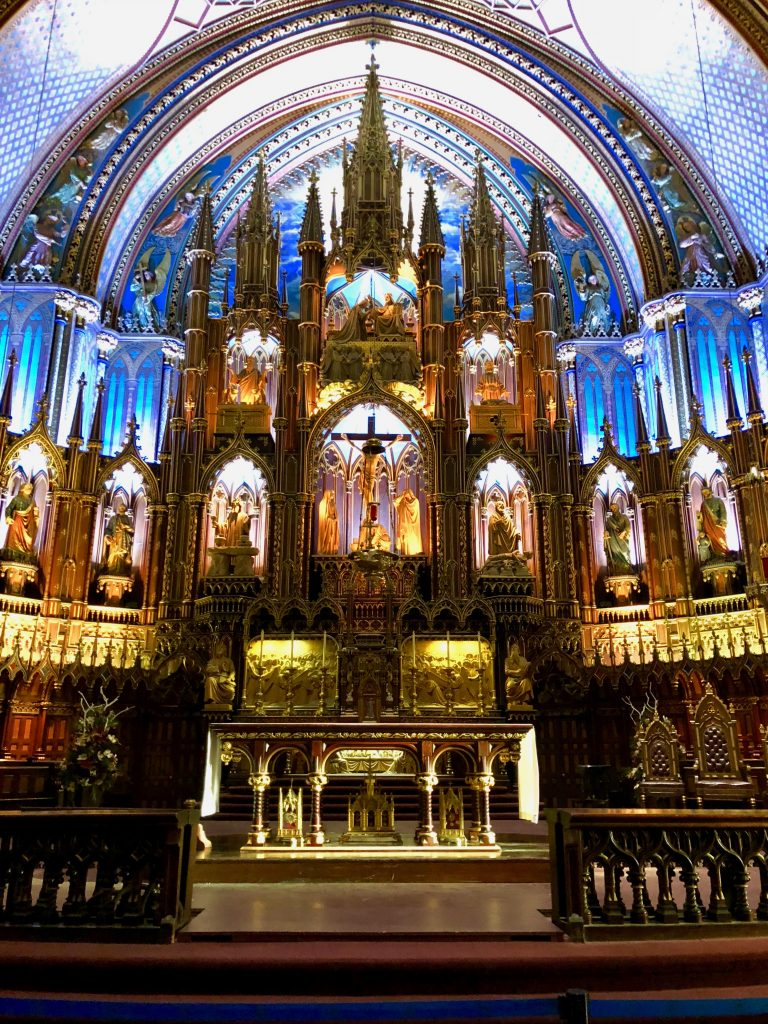 Main Alter, Notre Dame Basilica, Montreal, Canada