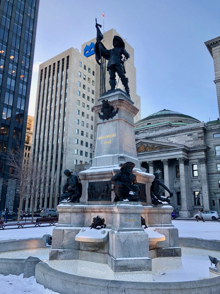 Place D'Armes, Montreal Canada