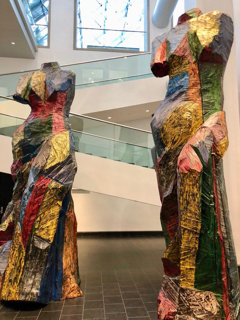 Atrium, Museum of Fine Arts, Montreal, Canada