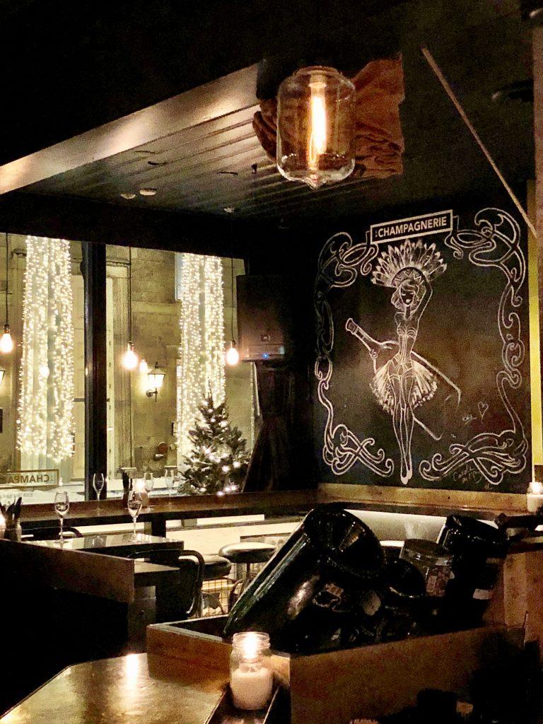 La Champagnerie, Rue Saint Paul, Montreal, Canada