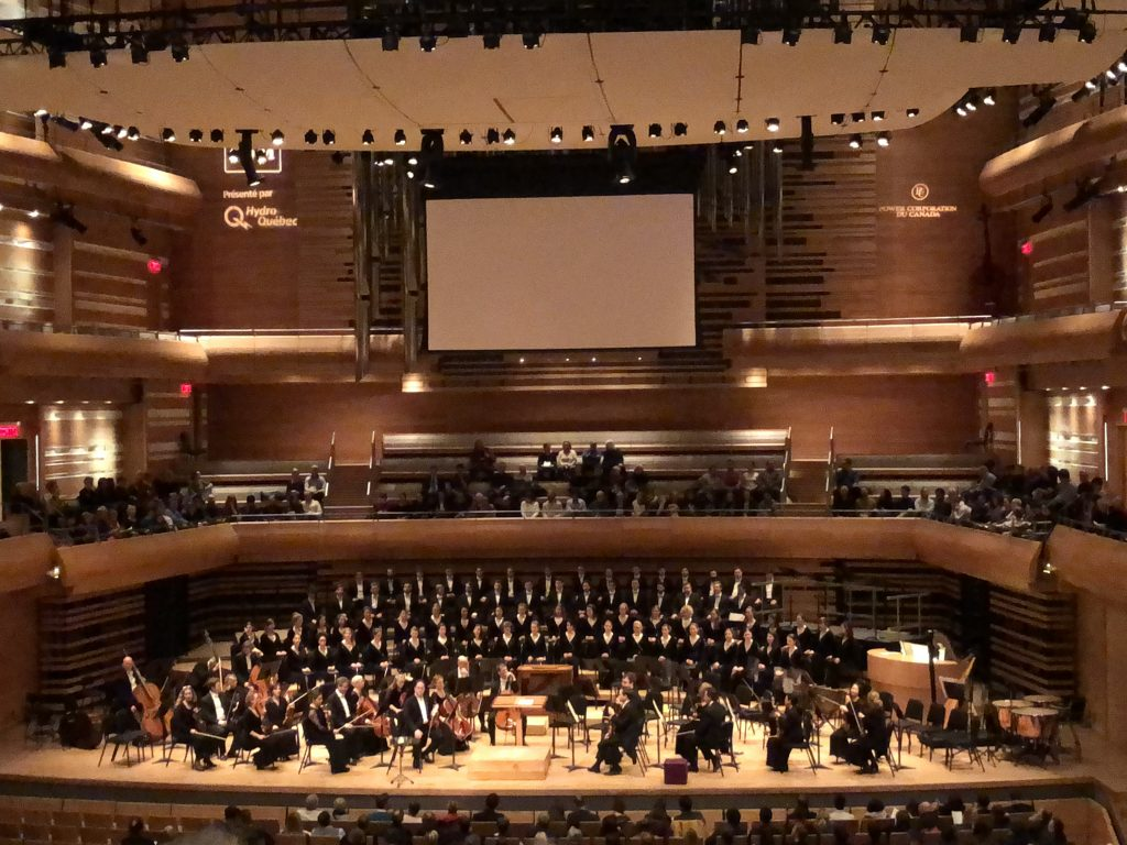 Place des Arts, Symphony, Montreal, Canada