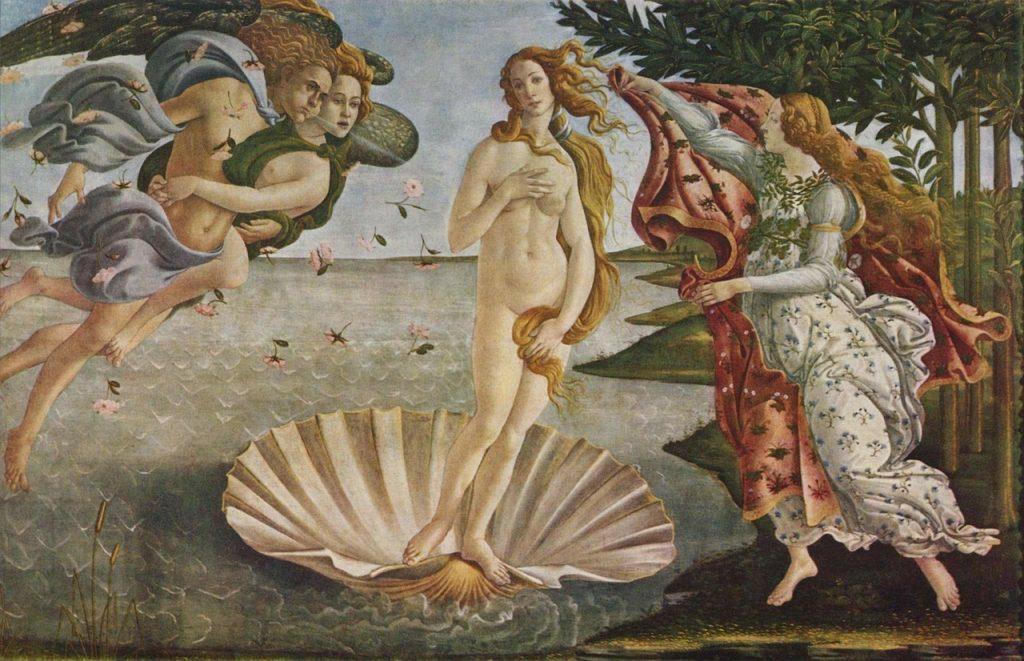 "Botticelli's ""The Birth of Venus"""