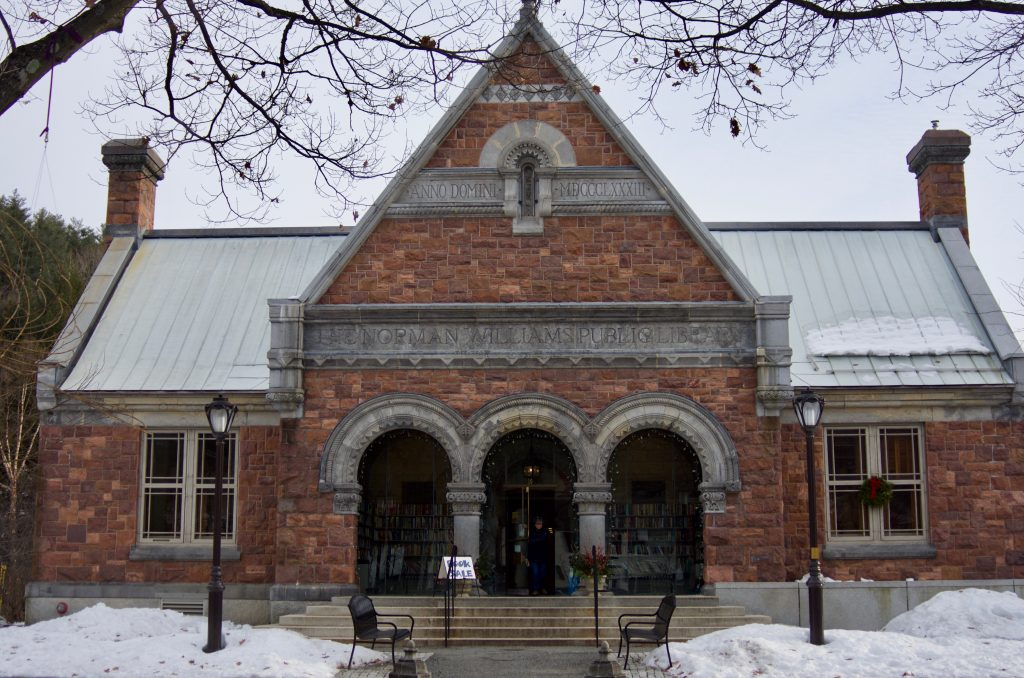 Norman Williams Public Library Woodstock Vermont