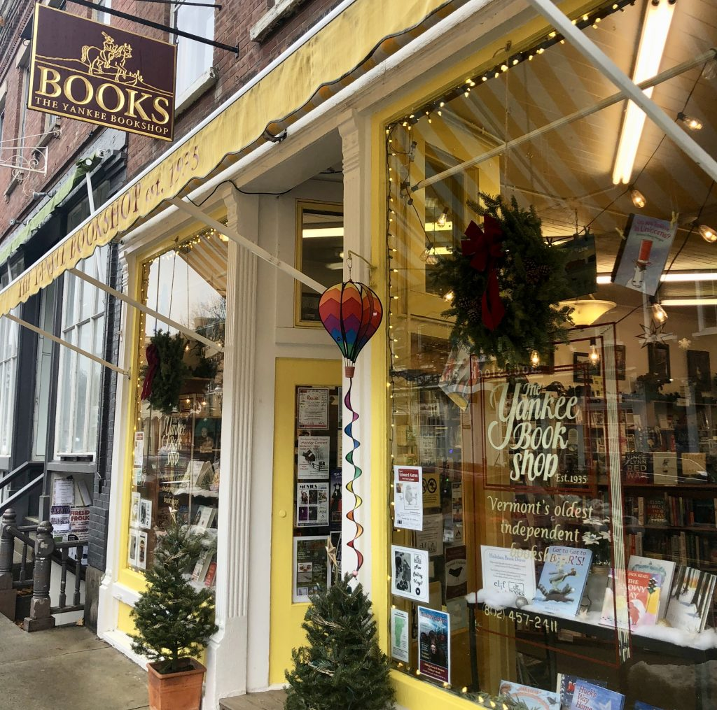Yankee Bookshop Woodstock Vermont